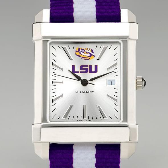 Louisiana State University Collegiate Watch with NATO Strap for Men - Image 1