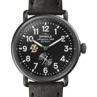 Boston College Shinola Watch, The Runwell 41mm Black Dial
