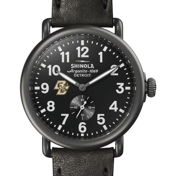 Boston College Shinola Watch, The Runwell 41mm Black Dial