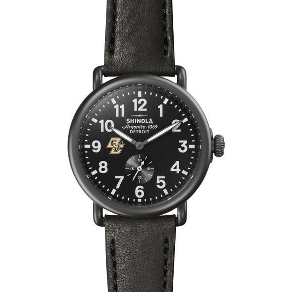 Boston College Shinola Watch, The Runwell 41mm Black Dial - Image 2