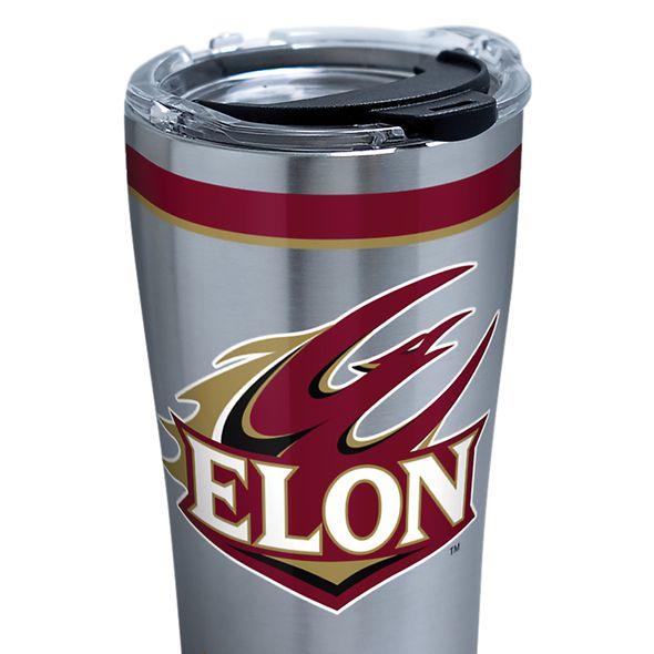 Elon 20 oz. Stainless Steel Tervis Tumblers with Hammer Lids - Set of 2 - Image 2