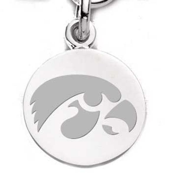 University of Iowa Sterling Silver Charm