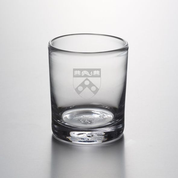 Penn Double Old Fashioned Glass by Simon Pearce - Image 1