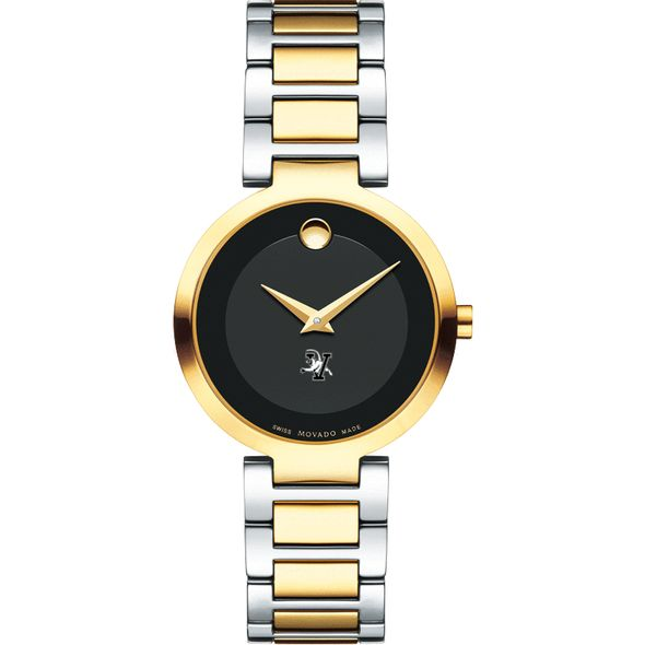 University of Vermont Women's Movado Two-Tone Modern Classic Museum with Bracelet - Image 2