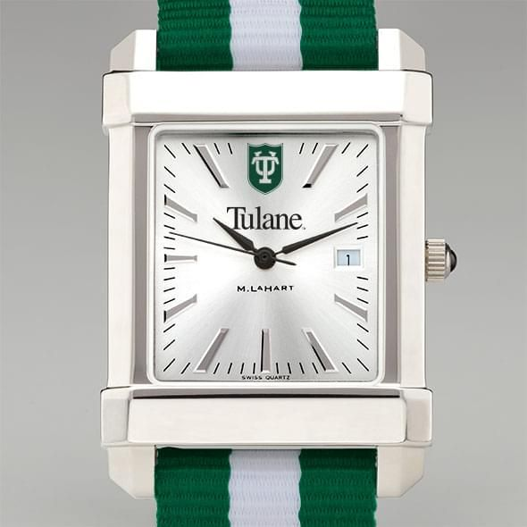 Tulane University Collegiate Watch with NATO Strap for Men