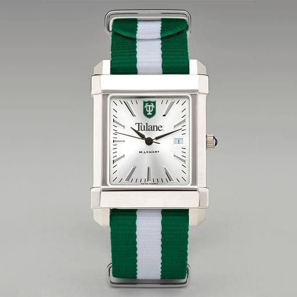 Tulane University Collegiate Watch with NATO Strap for Men - Image 2