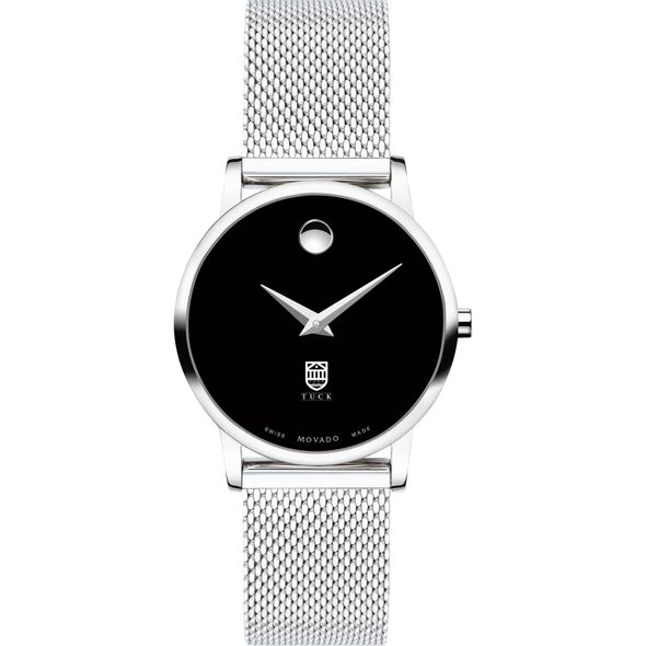 Tuck School of Business Women's Movado Museum with Mesh Bracelet - Image 2