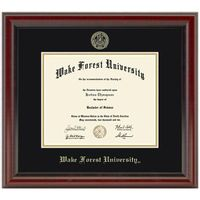 Wake Forest University Diploma Frame, the Fidelitas