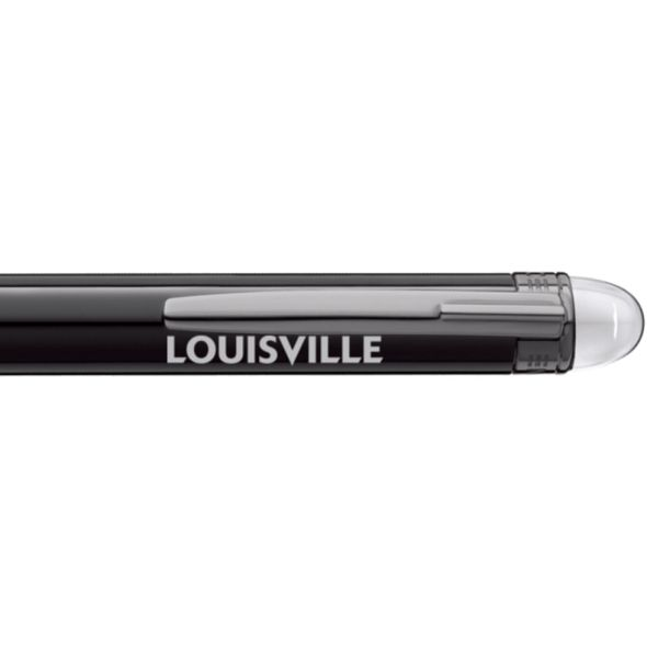 University of Louisville Montblanc StarWalker Ballpoint Pen in Ruthenium - Image 2
