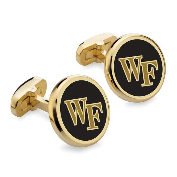Wake Forest University Enamel Cufflinks - Image 1