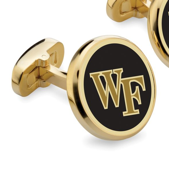 Wake Forest University Enamel Cufflinks - Image 2