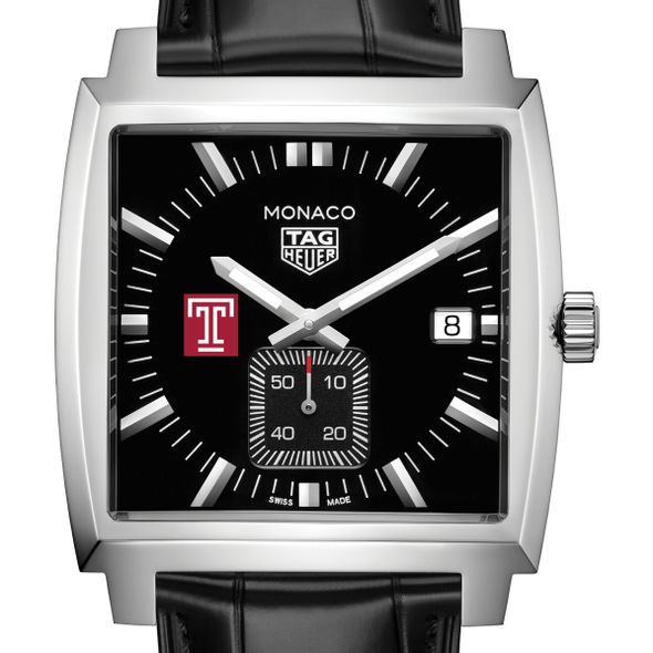 Temple TAG Heuer Monaco with Quartz Movement for Men - Image 1