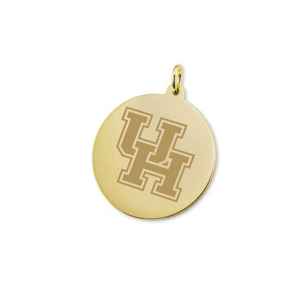 Houston 18K Gold Charm - Image 1