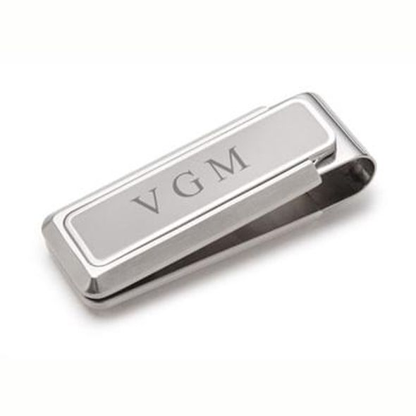 Brushed Stainless Steel M Clip - Image 1