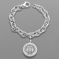 Merchant Marine Academy Sterling Silver Charm Bracelet