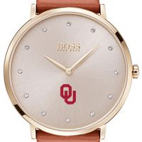 University of Oklahoma Women's BOSS Champagne with Leather from M.LaHart