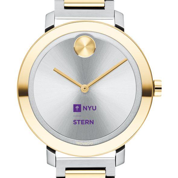 NYU Stern School of Business Women's Movado Two-Tone Bold 34 - Image 1