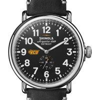 VCU Shinola Watch, The Runwell 47mm Black Dial