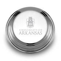 University of Arkansas Pewter Paperweight