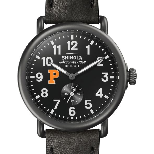Princeton Shinola Watch, The Runwell 41mm Black Dial