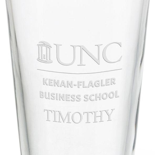 UNC Kenan–Flagler Business School 16 oz Pint Glass - Image 3