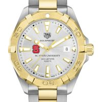 North Carolina State Men's TAG Heuer Two-Tone Aquaracer