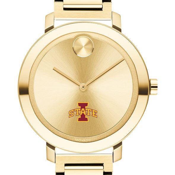 Iowa State University Women's Movado Gold Bold 34