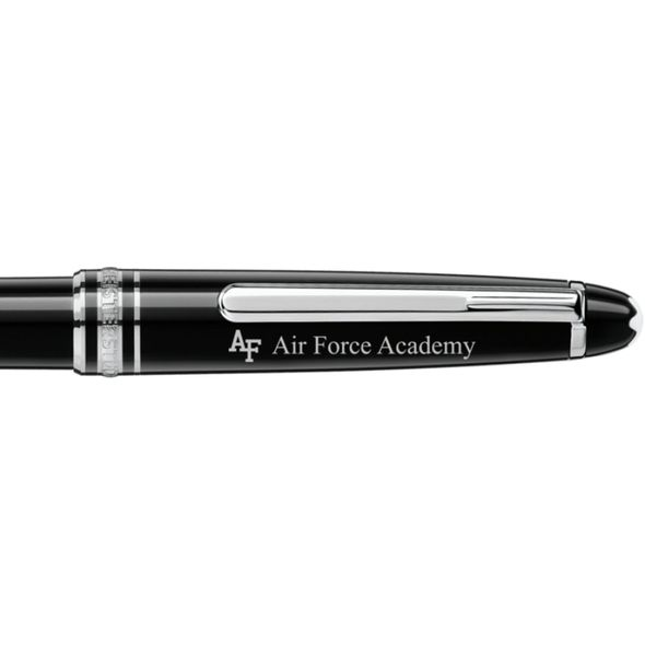 US Air Force Academy Montblanc Meisterstück Classique Ballpoint Pen in Platinum - Image 2