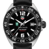 Tulane University Men's TAG Heuer Formula 1 with Black Dial