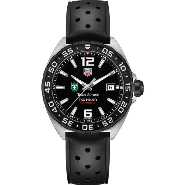 Tulane University Men's TAG Heuer Formula 1 with Black Dial - Image 2