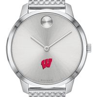 University of Wisconsin Women's Movado Stainless Bold 35