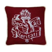 Colgate University Handstitched Pillow
