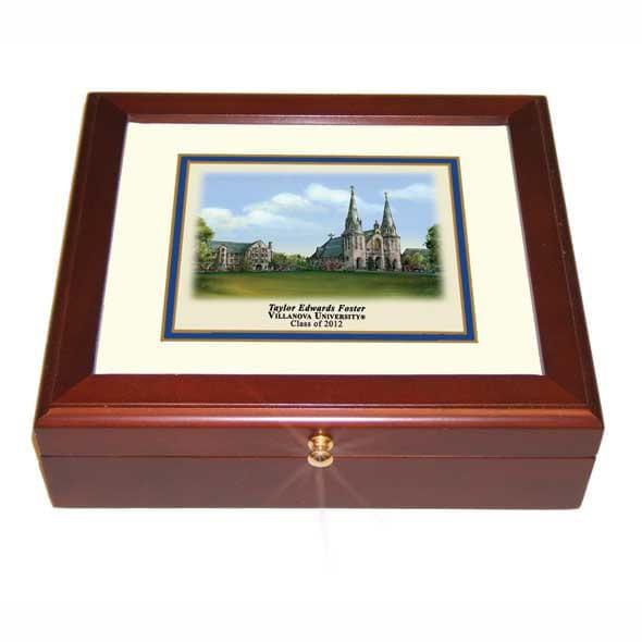 Villanova University Mini Desk Box - Image 2