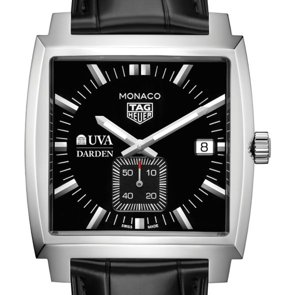 UVA Darden TAG Heuer Monaco with Quartz Movement for Men