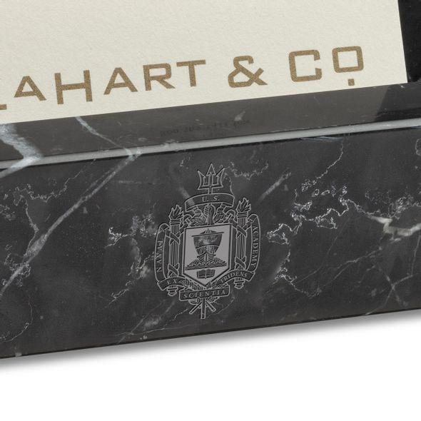 USNA Marble Business Card Holder - Image 2