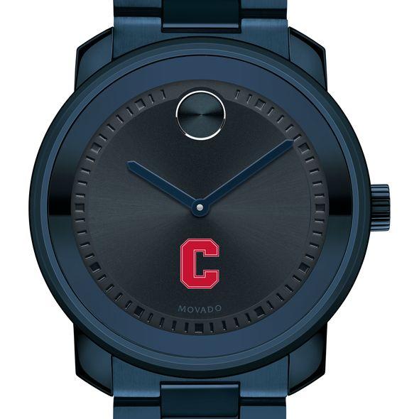 Cornell University Men's Movado BOLD Blue Ion with Bracelet