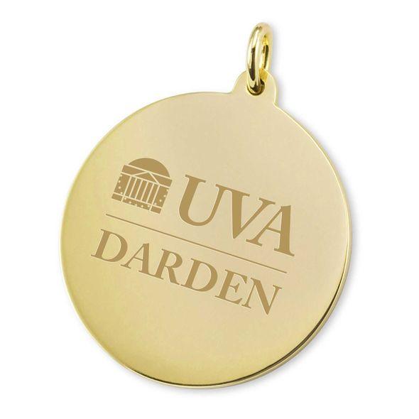 UVA Darden 14K Gold Charm - Image 2