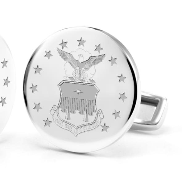 US Air Force Academy Cufflinks in Sterling Silver - Image 2