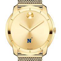 US Naval Academy Men's Movado Gold Bold 44