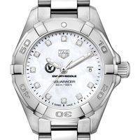 ERAU Women's TAG Heuer Steel Aquaracer with MOP Diamond Dial