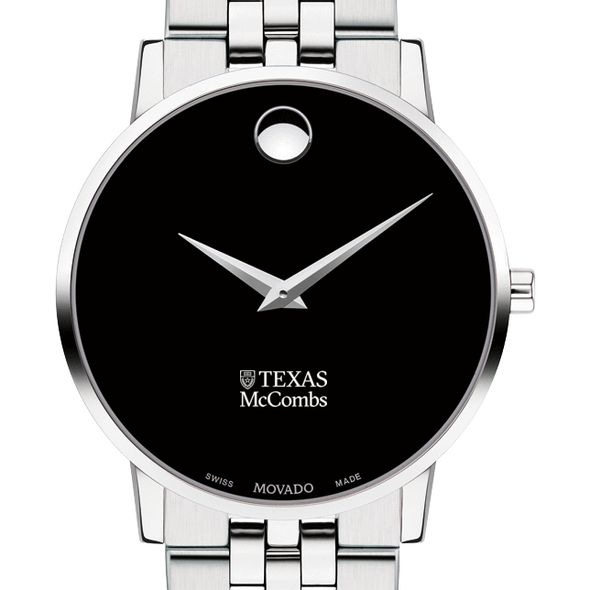 Texas McCombs Men's Movado Museum with Bracelet - Image 1