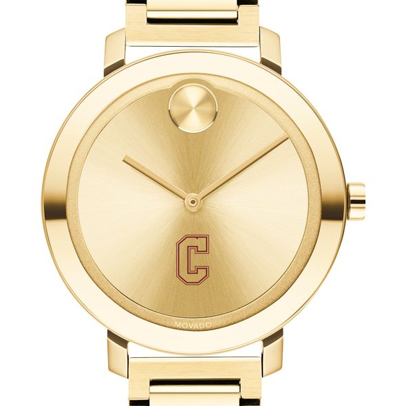 College of Charleston Women's Movado Gold Bold 34