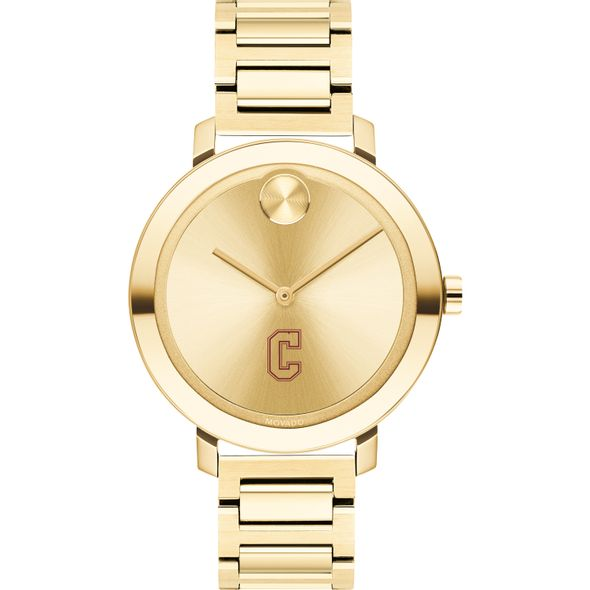 College of Charleston Women's Movado Gold Bold 34 - Image 2