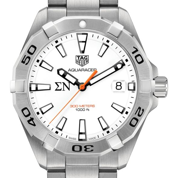 Sigma Nu Men's TAG Heuer Steel Aquaracer