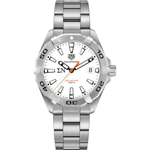 Sigma Nu Men's TAG Heuer Steel Aquaracer - Image 2
