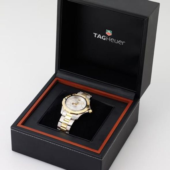 Tulane Men's TAG Heuer Two-Tone Carrera with Strap - Image 4