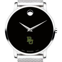Baylor University Men's Movado Museum with Mesh Bracelet