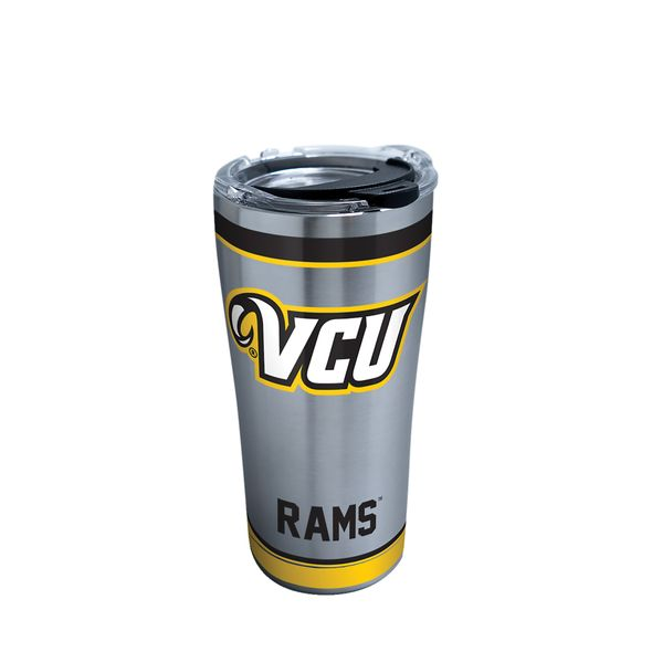 VCU 20 oz. Stainless Steel Tervis Tumblers with Hammer Lids - Set of 2 - Image 1
