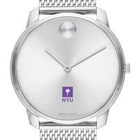 New York University Men's Movado Stainless Bold 42