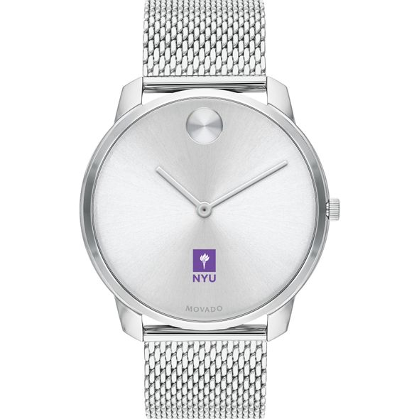 New York University Men's Movado Stainless Bold 42 - Image 2